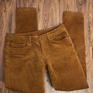 Patagonia Corduroy Pants Size 30 Cognac Tan